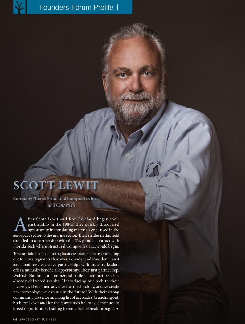 Scott lewit structural composites