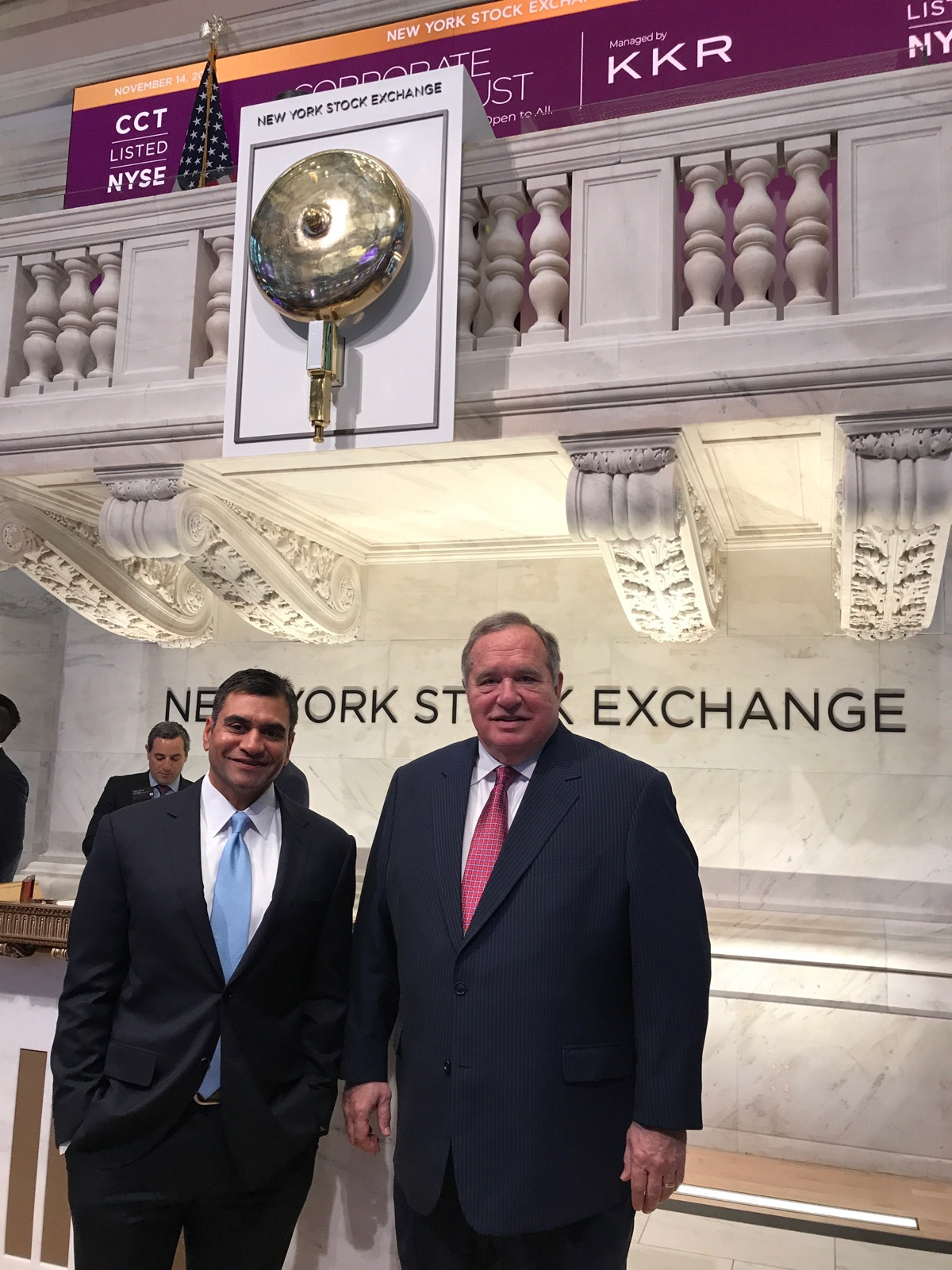 CNL Financial Group Rings The Opening Bell Of The NYSE